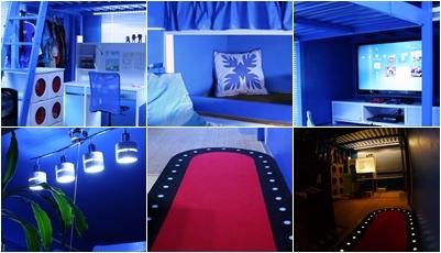 IKEAインテリア子供部屋☆我が家のお部屋大改造 ~青の洞窟~