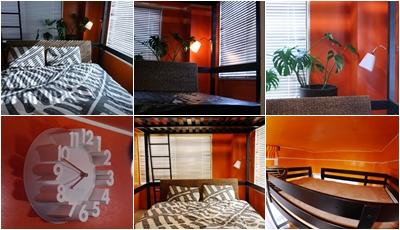 IKEAインテリア☆オレンジの寝室♪テーマは南国リゾートの開放感