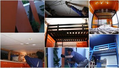 和室の天井を30cm高く!DIYで天井のセルフリノベーション